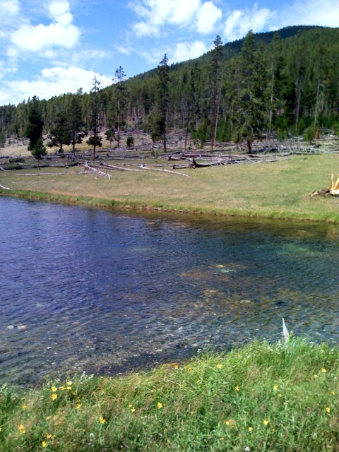 I Find Myself in Yellowstone