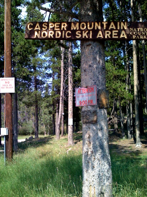 The Shortcut Comes after the Ski Area on Casper Mountain